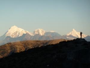 Vistas del Himalaya en Bután